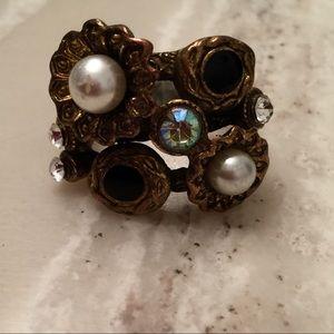 Women's flower ring